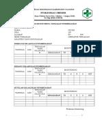 Form Monitoring Tindakan Pembedahan
