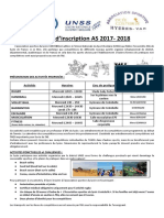 fiche d-inscription as  2017-2018