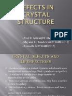 Crystal Defect Presentation