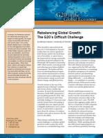 Rebalancing Global Growth