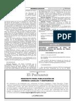 Aprueban modificación al Plan de Desarrollo Urbano del distrito de Chilca provincia de Cañete