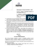 Res. Nº 134 - 01-07-15- Politica de Integridade Acadêmica_PLAGIO