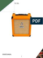 Orange CR20L Manual V16