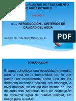 Introducción_calidad Del Agua