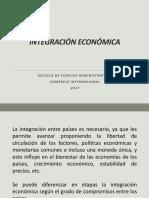 3.2. Integración Económica