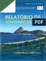 Relatório 2013 CGM RJ1