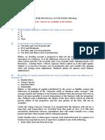 MCQS ( F. Accounting)