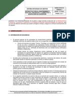In-sc-014 Instructivo Para El Mantenimiento Predictivo, Preventivo y Correctivo a Equipos Bes de Superficie - Copy