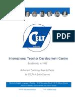 CELT Booklet 2017 2018