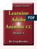 Learning Animate CC Sample