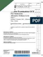 2009 Jan P1 QP .pdf