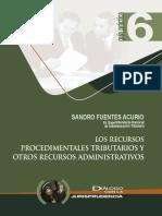 Los recursos procedimentales tributarios y otros recursos administrativos.pdf
