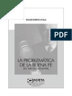 La problemática de la buena fe del tercero registral.pdf