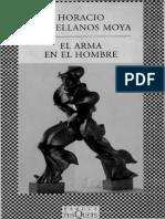El Arma en El Hombre de Horacio Castellanos Moya