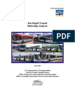 WestStart BRT Ridership Analysis Final