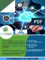 Brochure Era Tabu Terapeutas con PNL