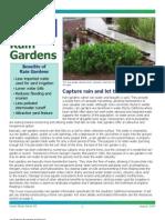 Rain Gardesn Brochure - Sea Grant California
