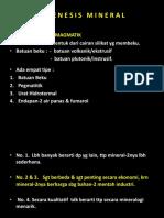 04-1 (h14) Mineralogi Genesis Mineral Bat Beku 2015