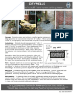 Drywells - Managing Rainwater Runoff From Your Roof Without Gutters