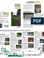 Sebago Lake Ecology Center's Pervious Pathway Brochure - Low Impact Development Demons Traton
