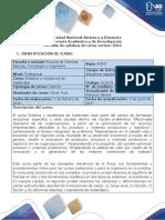Syllabus Del Curso Estática y Resistencia de Materiales - 212019