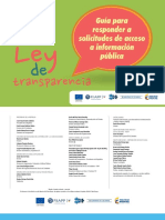 Guia Para Responder a Solicitudes de Acceso a Informacion Publica Web