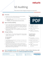 2016 Azure AD Auditing Quick Reference Guide