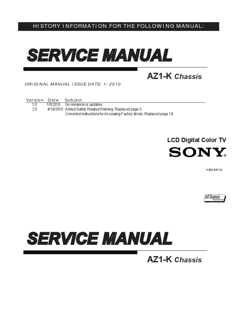 Mode Demploi Sony Bravia Kdl 40ex500