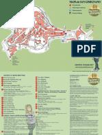 Mappa San Gimignano