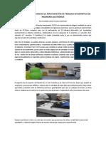 Innovación y Creatividad en La Xxxvii Muestra de Trabajos Estudiantiles de Ingeniería Electrónica