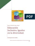 Educación Inclusiva - Familias