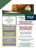 COSTA Newsletter - Sept 2017
