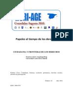 Francisco Javier Ansuátegui Roig - Ciudadanía y Fronteras de Los Derechos