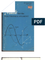 Alan Andrews - Math for the Electronics Student [Radio Shack Electronics]