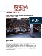 09. 08.17 RAFAEL MORENO VALLE, EL ASPIRANTE FAVORITO ENTRE LOS PANISTAS RUMBO AL 2018