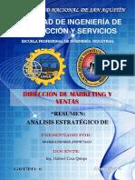 Análisis Estratégico de Mercado - Resumen