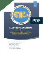 Fundamento de La Teoría Electrónica Clásica