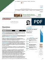 Chauvinismo - 28-02-2016 - Vera Guimarães Martins - Colunistas - Folha de S