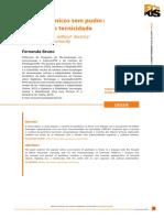 Objetos Técnicos Sem Pudor, Por Fernanda Bruno