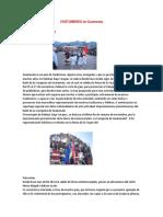 Costumbres y Tradiciones de Guatemala Ilustrado