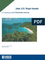Geology of St. John's BVI -USGS