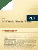 SUSTITURIO DE GEOLOGIA DE MINAS.ppt
