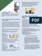 Folleto Sobre El Sistema General de Seguridad Social en Colombia