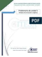 Problemario modelos de simulación y logística