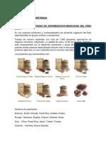 Analisis de La Competencia Soluciones Avanzada en Agronegocios y Villa Andina Sac