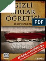 Ergun Candan - Gizli sırlar Öğretisi.epub