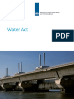 The Dutch Water Act