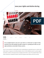 Bharat Bandh_ Know Your Rights and Duties During Hartal _ Live Law