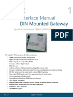 SignalFire DIN Gateway Manual Rev 1 6