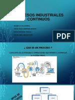 Procesos Industriales Continuos
